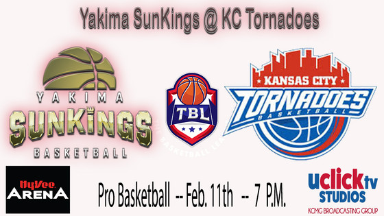 KC Tornadoes back in Action on Monday in Game 2 vs Yakima SunKings @ Hy-Vee Arena