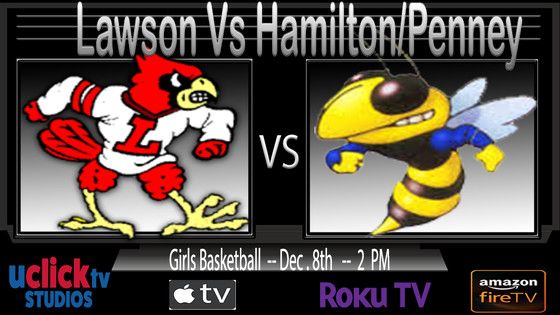 Catch the KCI Girls Championship Game Live on #THEU @UclickTV Lawson vs Penney