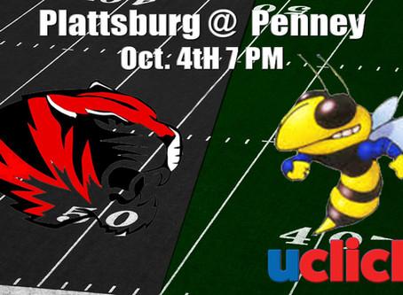Football Plattsburg @ Penney