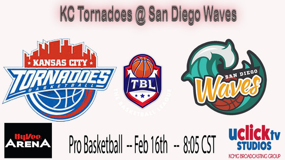 8-0 KC TORNADOES BACK IN ACTION TONIGHT IN SAN DIEGO