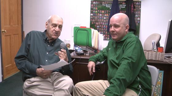 Chuck Haney Talks CLAA Tournament With Tina Avalon Coaches and AD