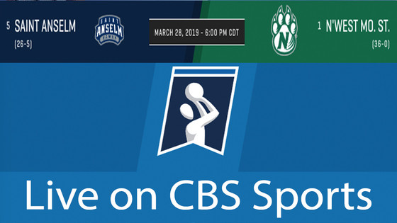 WATCH NORTH WEST MISSOURI STATE TONIGHT ON CBS SPORTS