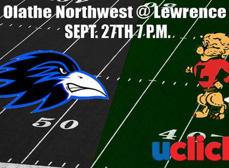 Football Olathe Northwest @ Lawrence