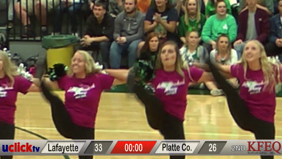 HIGHLIGHTS: Lafayette V Platte Co. Plus Half Time Show