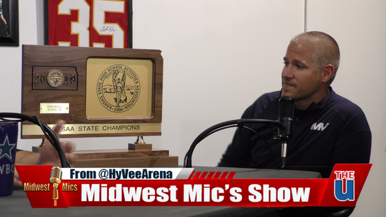 Midwest Mic's Talks with KS 5A State Champ Coach and QB