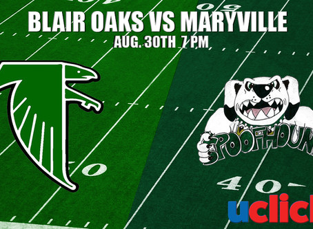BLAIR OAKS VS MARYVILLE SPOOFHOUNDS