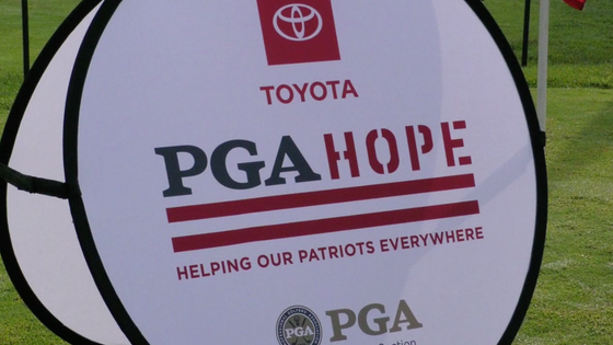 PGA HOPE Helping Our Patriots Everywhere