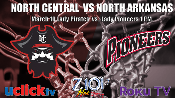 Lady Pirates Travel to North Arkansas To Take On The Pioneers In Post Season Play