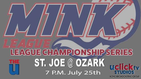 Mink League Playoff Championship Series Starts Tonight