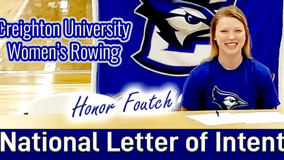 Honor Foutch Signs National Letter of Intent with Creighton @HyVeeArena