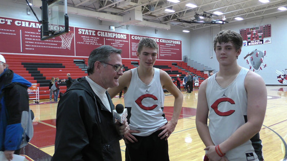 PRE SEASON INTERVIEWS WITH CHILLICOTHE PLAYERS Wes Brandsgaard & CJ Pfaff