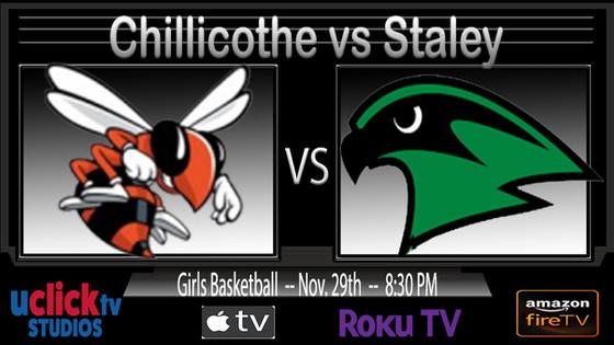Girls Chillicothe vs Staley at Savannah Tournament