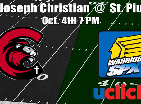 Football St. Joseph Christian @ St. Pius X