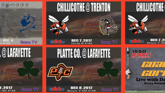 LIVE THIS WEEK ON UCLICKTV