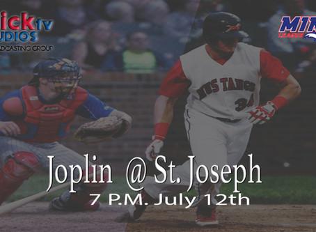 Joplin Outlaws at St. Joseph Mustangs