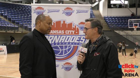Meet the Kansas City Tornadoes Pro Basketball Coach Eddie Corporal
