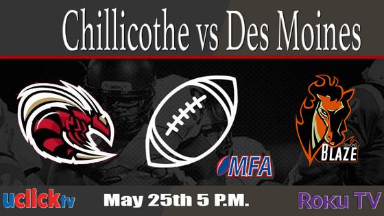 5 P.M. Chillicothe vs Des Moines