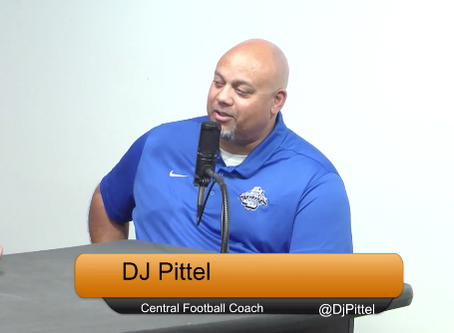 Centrals Football Coach Pittel on the Show