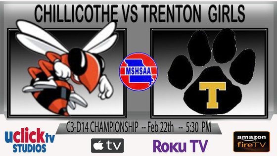 WATCH C3D14 CHAMPIONSHIP LIVE CHILLICOTHE VS TRENTON