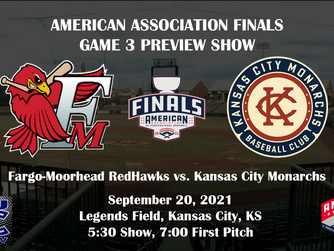 The Kansas City Monarchs and RedHawks square off in Game 3 of the American Association Championship