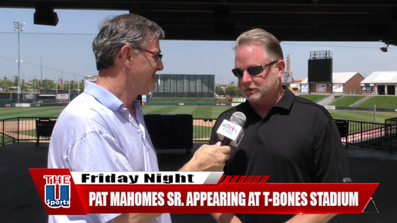 PAT MAHOMES SR. APPEARING AT T-BONES STADIUM