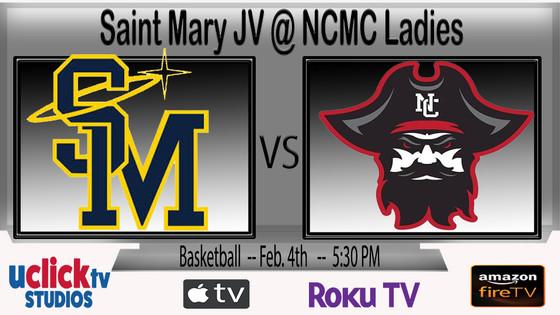Saint Mary JV @ NCMC Ladies