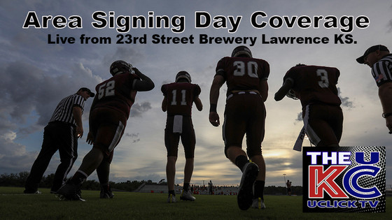 Football Signing Day Coverage from 23 Street Brewery Lawrence KS