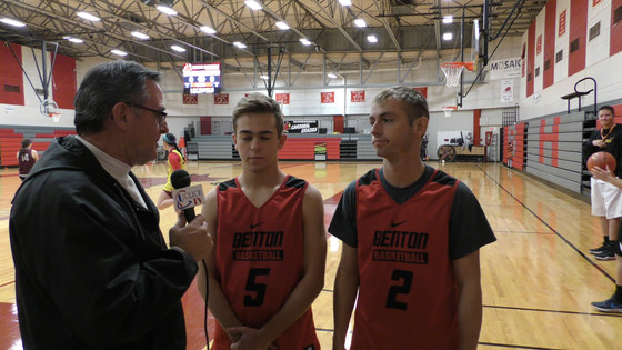 PRE SEASON INTERVIEWS WITH BENTON PLAYERS Trevor Mull & Quentin Shimer