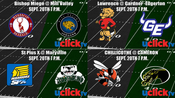 Catch any One of our Four Games This week Here