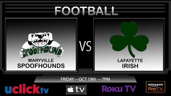 Watch Live Football Maryville @ Lafayette