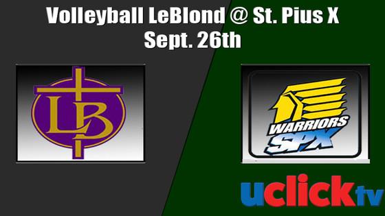 Volleyball Bishop LeBlond @ St. Pius X