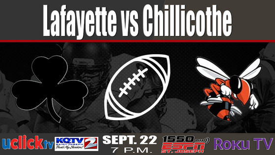 5 Ways to catch the Big Game. Lafayette at Chillicothe
