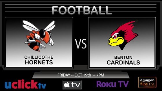 Watch Live: Football Chillicothe @ Benton
