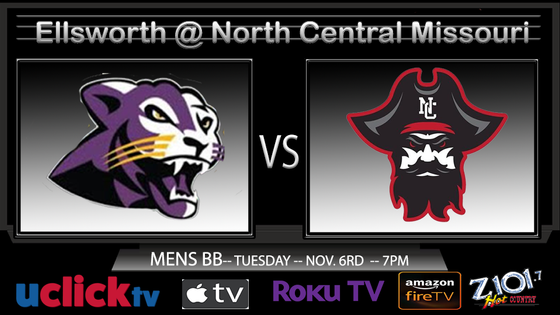 WATCH LIVE: Ellsworth @ North Central Missouri College Double Header