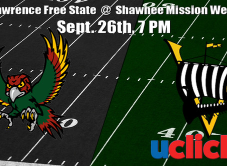 Football Lawrence Free State @ Shawnee Mission West