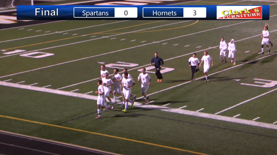 Video Highlights: Hornets Shut out Spartans and Advance to District Championship Game