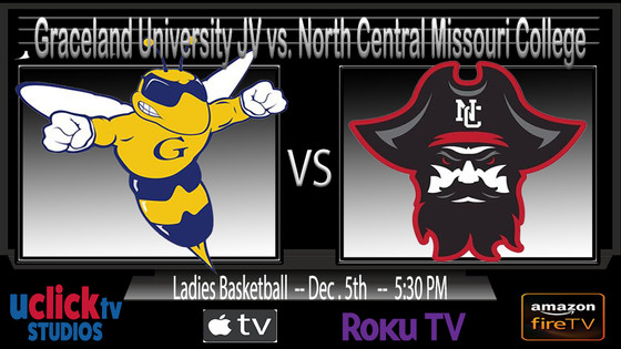 Watch Live Ladies Graceland University JV vs. North Central Missouri College