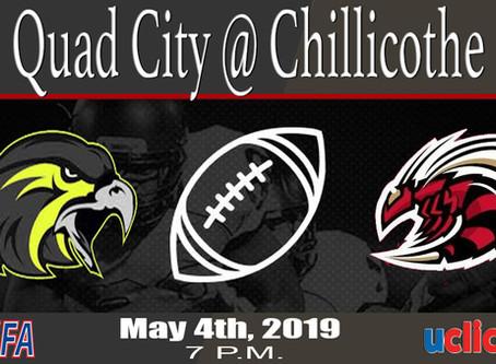 Quad City Nighthawks @ Chillicothe Swarm in MFA Action