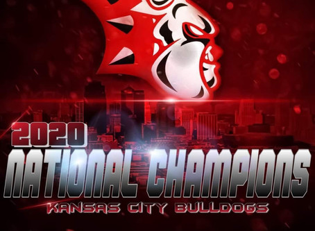 Kansas City Bulldogs 2019 Games that lead them to the National Championship