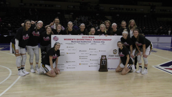 Fort Hays State Tigers win MIAA Women's  Championship