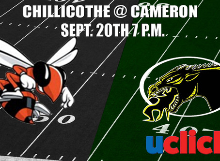 FOOTBALL CHILLICOTHE @ CAMERON