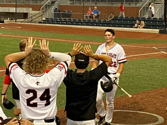 Outlaws Run-Rule Mudcats Behind Protaskey's Seven-RBI night