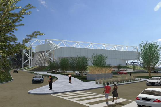 Former Kemper Arena Gets A New Life.