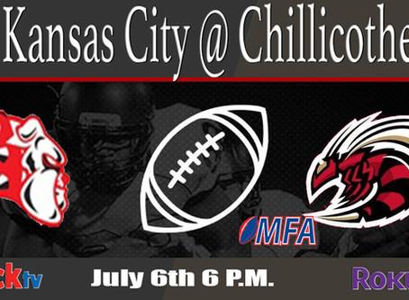 Kansas City Bulldogs @ Chillicothe on Slice Bread Saturday Football & Fire Works