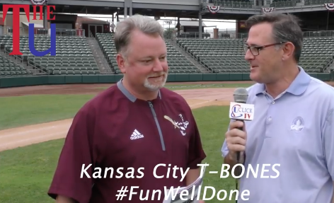 Kansas City T-Boneswith a 9 game home stretch over 10 days