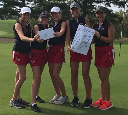 LADY HORNETS GOLF TEAM MOVING ON TO STATE