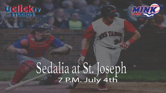 Sedalia Bombers at St. Joseph Mustangs
