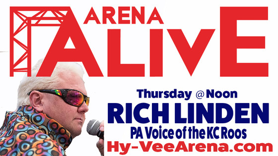Arena Alive Podcast from Hy-Vee Arena Special Guest 94.9 KCMO's Kelly Urich