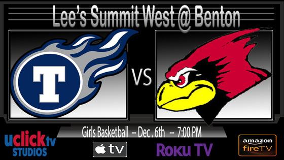 Watch Live Girls Lee's Summit West @ Benton