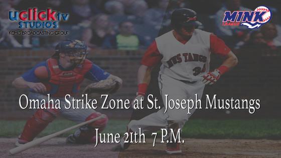 Omaha Strike Zone at St. Joseph Mustangs